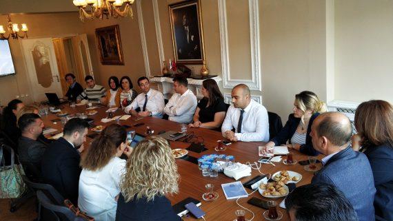 Anlaşmalı Kurumlar Konulu Departman Toplantısı Yapıldı