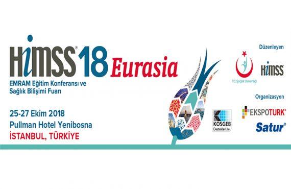 HIMSS'18 Eurasia, 25 Ekim'de Sağlık Bilişimi Profesyonellerine Kapılarını Açacak