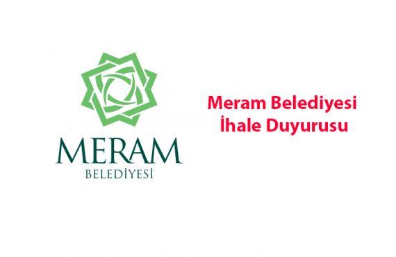 Meram Belediyesi Özel Sağlık Tesisi Alanı İçin İhale Duyurusu Yayımlandı
