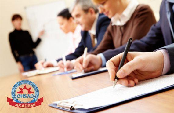 """OHSAD Akademi """"Sektöre Özel Eğitimler"""" ile Faaliyete Geçti"""