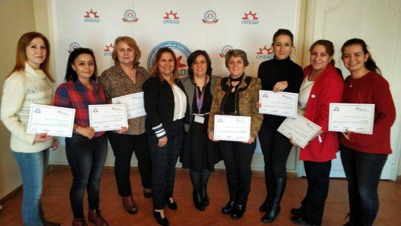 Sağlık Kuruluşlarında Uluslararası Hemşirelik Yönetimi Eğitim Programı Tamamlandı