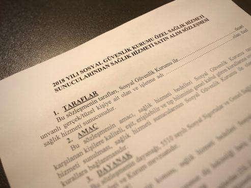 SGK Sözleşmesi ile İlgili Toplantı Duyurusu