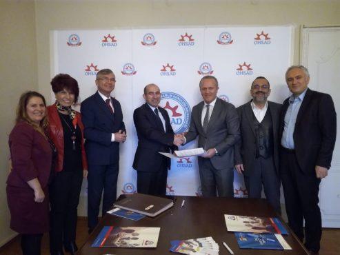 OHSAD Akademi ve İstinye Üniversitesi Arasında İşbirliği Protokolü