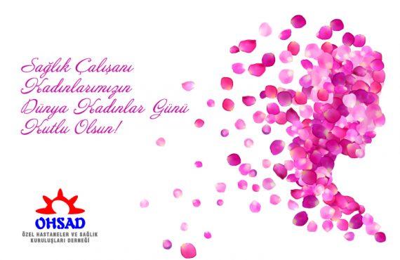 Sağlık Çalışanı Kadınlarımızın Dünya Kadınlar Günü Kutlu Olsun!