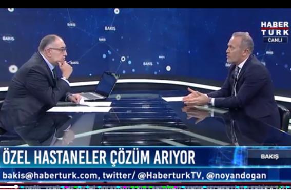 OHSAD Başkanı Dr. Bahat Habertürk'te Noyan Doğan'ın Konuğu Oldu