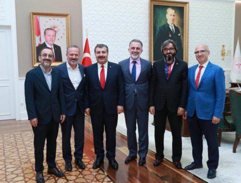 Medikal News – Sağlık sektöründen Bakan Koca'ya ziyaret – Temmuz 2019