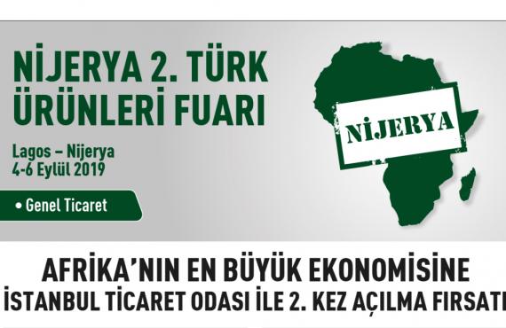 Nijerya 2. Türk Ürünleri Fuarı Eylül'de