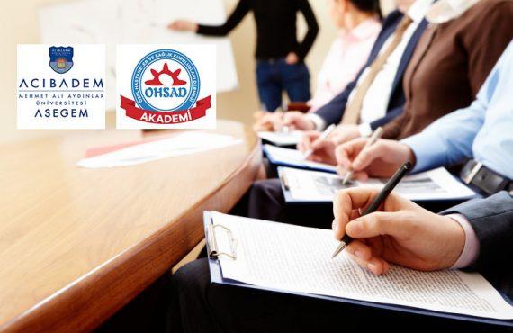 OHSAD Akademi – Temel İlkyardım Eğitimi, 12 -13 Ekim 2019