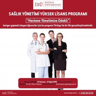 İstinye Üniversitesi Sağlık Yönetimi Yüksek Lisans Programı