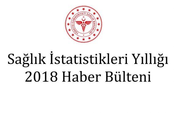 2018 Sağlık İstatistikleri Yıllığına İlişkin Bülten Yayımlandı