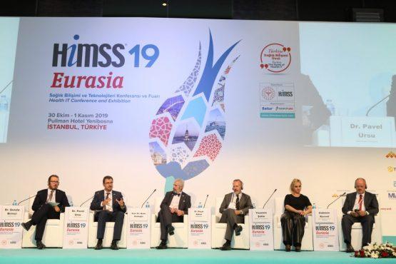 OHSAD Başkanı Bahat, HIMSS'19 Eurasia'da Geleceğin Hastanelerini Konuştu