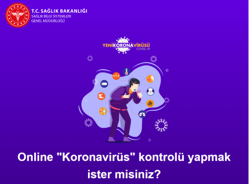 Sağlık Bakanlığından Online Koronavirüs Kontrolü