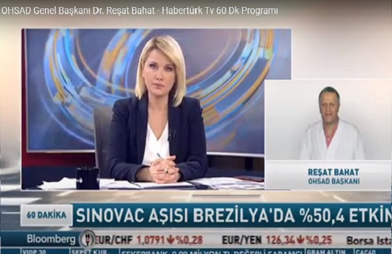 Habertürk TV – Sinovac Aşısı Hazırlığı – 13 Ocak 2021